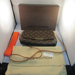 Louis Vuitton Favorite PM Clutch Box Bag Ribbon